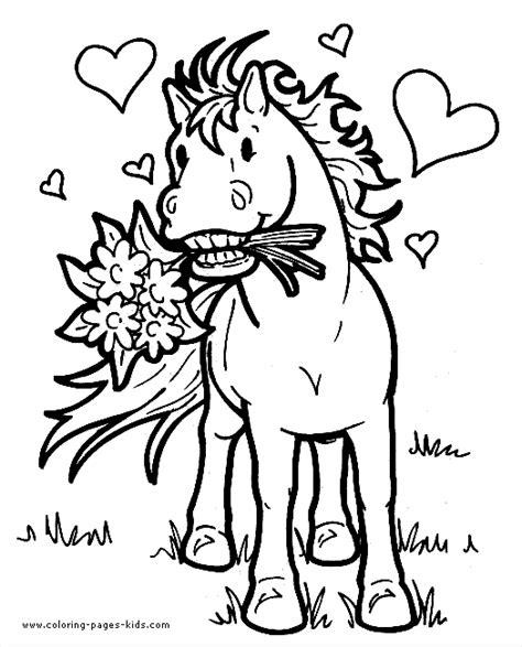 horse coloring pages that you can print horses coloring page horse in love