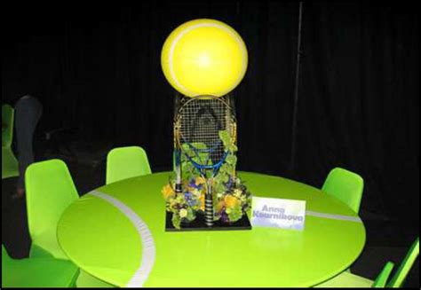 tennis themed events theme parties sports