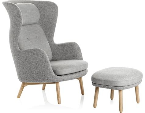 High Dining Room Chairs Ro Lounge Chair And Ottoman Hivemodern Com