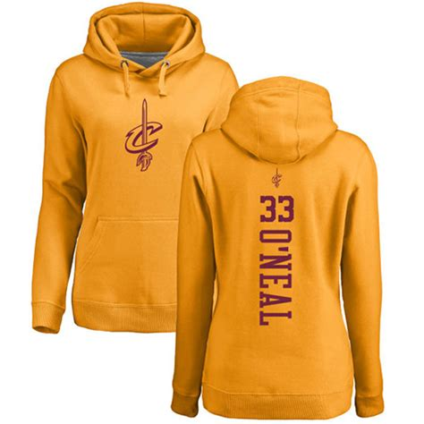 Hoodie Shaquille O Neil Shaq H01 33 Nike Shaquille O Neal S Gold Nba One Color