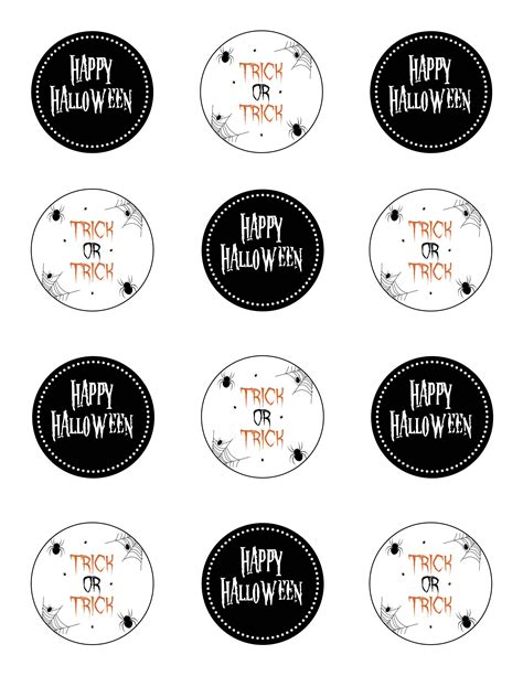 printable stickers for halloween freebie friday printable halloween stickers tags the