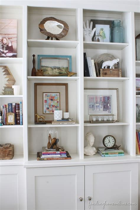 Bookcase Decorating lessons learned in styling a bookcase finding home farms