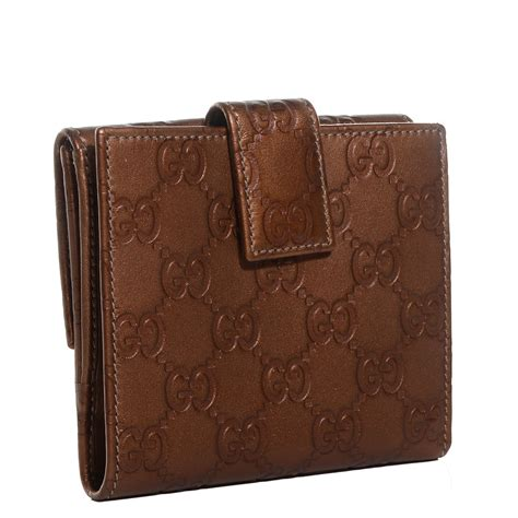 Gucci Wallet Bronze gucci guccissima lovely flap wallet bronze 98360