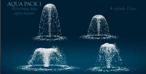 Fountain Splash by lordjony   VideoHive