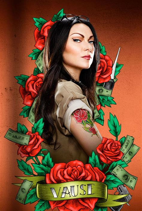 alex vause tattoos amazing official new orange is the new black artwork revealed