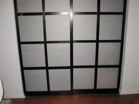 Diy Shoji Screen Closet Doors Shoji Style Sliding Closet Doors From Scratch Corrugated Plastic Door Kits And Sliding Door
