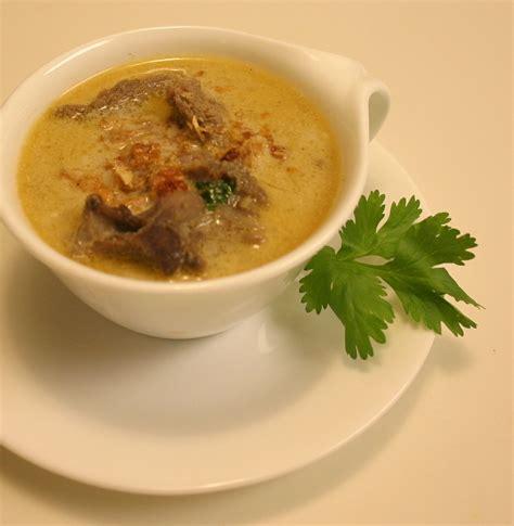 recette sup kambin soupe malaisienne 224 l agneau recettes