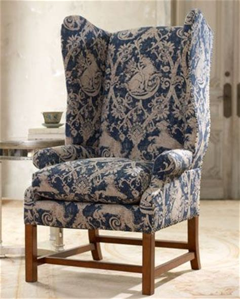 horchow chaise 1000 ideas about wingback armchair on pinterest