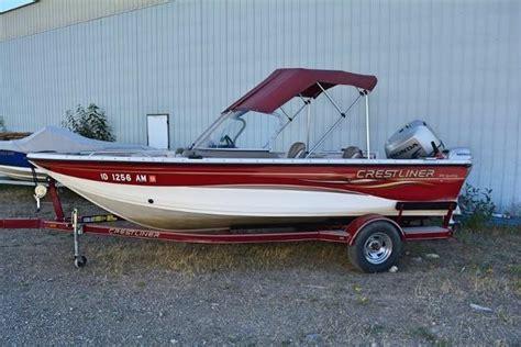 crestliner deck boats for sale used used crestliner 1850 sportfish boats for sale boats