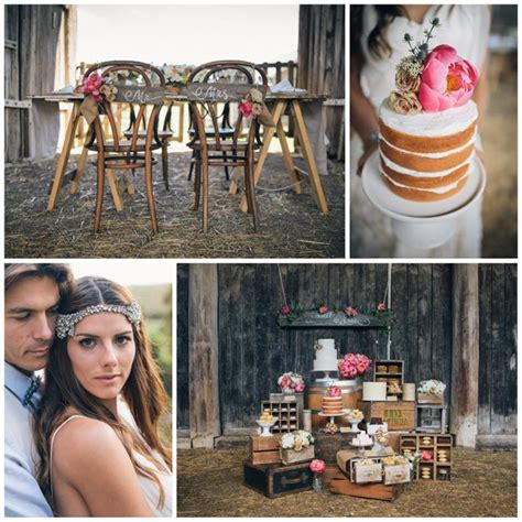 Kara's Party Ideas Rustic Country Barn Wedding {Party