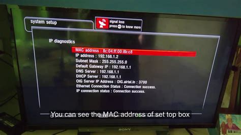 Best Address Finder How To Find Mac Address Of Airtel Digital Tv Set Top Box
