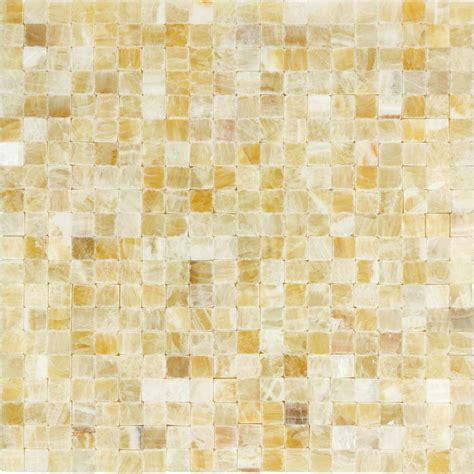 5 8x5 8 squares honey onyx polished mosaic
