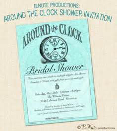 bnute productions around the clock bridal shower gift