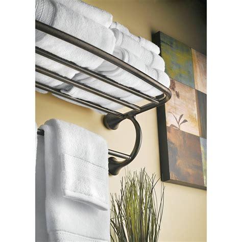 Moen Bathroom Towel Racks Moen Yb2894ch Chrome Towel Rack Shelf Bathroom