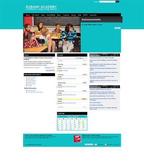 elementary school website eubank elementary school website launched