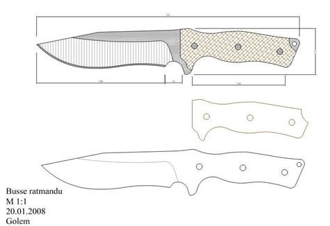 templates for knives pin by doug mckillop on knife patterns pinterest