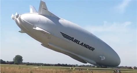 air vehicles hybrid air vehicles airship crashes during second test flight