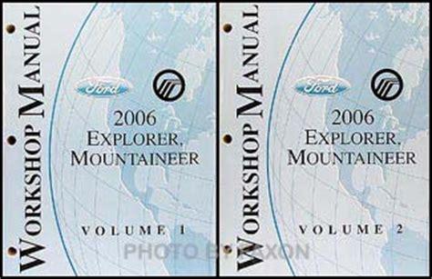 download car manuals 2006 mercury mountaineer user handbook 2006 ford explorer mercury mountaineer wiring diagram manual original
