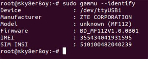 tutorial gammu linux konfigurasi dan install gammu di linux
