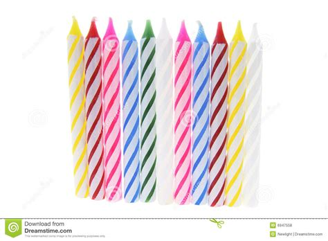 candele a pile row of birthday candles royalty free stock photos image