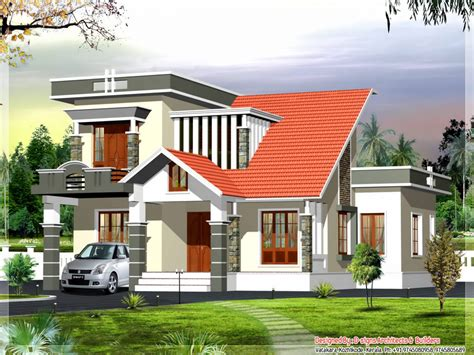 Contemporary Kerala Style House Plans Kerala Modern House Design Modern Bungalow House Plans Modern Style House Plans Mexzhouse