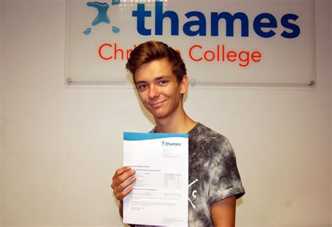 thames christian college gcse results day 2016 uk students get their grades as