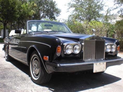 1985 Rolls Royce Corniche 1985 Rolls Royce Corniche 19k No Reserve For Sale