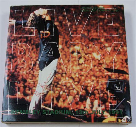 Laserdisc Ld Inxs Live Baby Live Wembly Stadium 91 inxs live at wembley stadium 1991 cadillac
