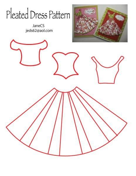 free wedding dress template for cards dress pattern by janecs cards and paper crafts at