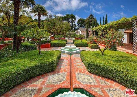 Hacienda Gardens by This Sumptuous Underground L A Mansion Is No Prepper
