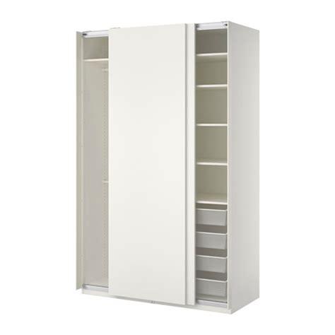 Kleiderschrank 100 Breit by Pax Wardrobe White Hasvik White 150x66x236 Cm Ikea