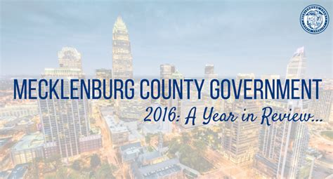 Mecklenburg County Nc Property Tax Records 2016 Year In Review