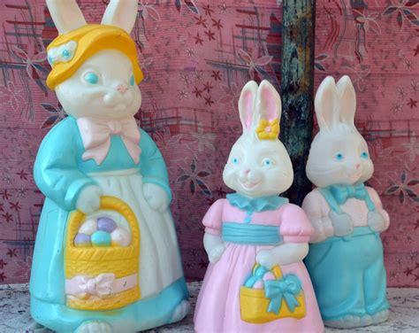 5 Adorable Families Celebrating Easter by Adorable Easter Bunny Family Mold Collection Set Of3