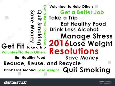 happy new year 2016 resolutions stock photo 328362920