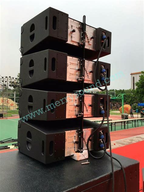 Cctv Outdoor Yang Bagus vera 36 dual 10 inch outdoor pro line array speaker for event shows club bars j professional