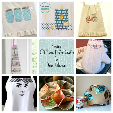 diy decorations sewing sewing diy home d 233 cor crafts for your kitchen favecrafts