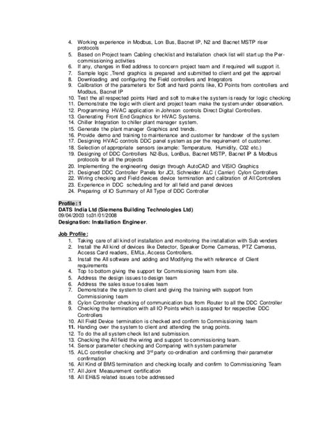 Programmable Logic Controller Sle Resume by Resume Kp
