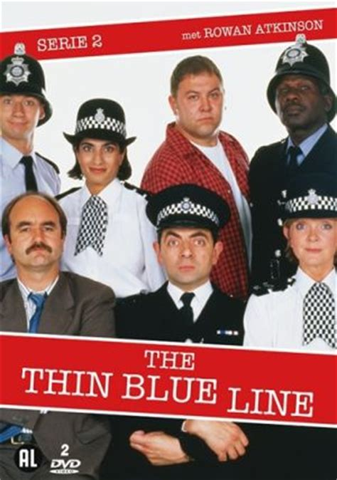 Dvd Original The Thin Line Region 2 tv series thin blue line series 2 2 dvd 8717306271288 sounds delft
