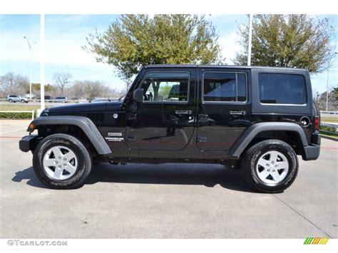 black jeep wrangler unlimited black 2011 jeep wrangler unlimited sport 4x4 exterior