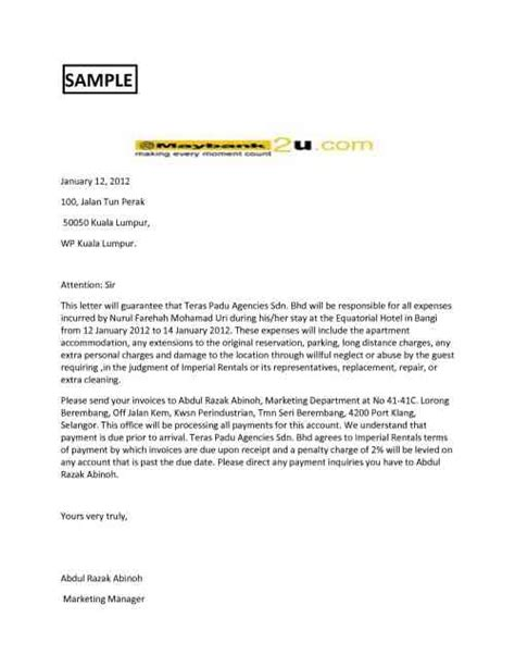 guarantee cancellation letter to bank letter of guarantee banking finance made easy