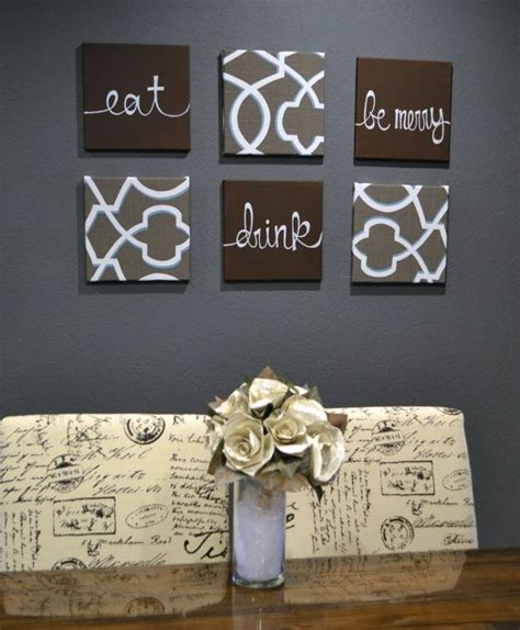 dining room prints wall art eat drink fork knife spoon eat drink be merry wall art pack of 6 canvas wall hanging