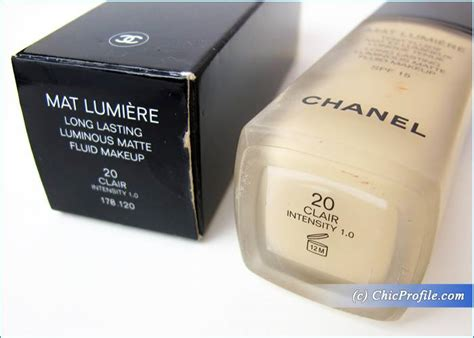 Harga Foundation Chanel Mat Lumiere chanel mat lumiere lasting luminous matte fluid
