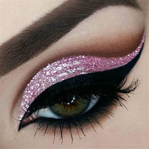 Make Up La Ode Yusuf maquillaje de ojos con glitter 20 curso de organizacion hogar y decoracion de interiores