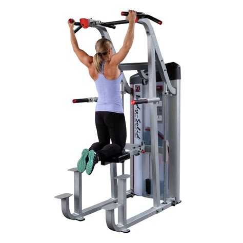 Dips Chaise Romaine by Solid Pro Club Weight Assisted Chin Dip Pull Up Power