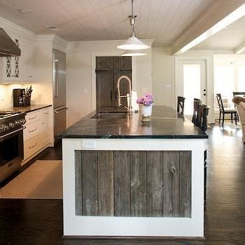 Black White Bathroom Ideas by Reclaimed Wood Kitchen Island