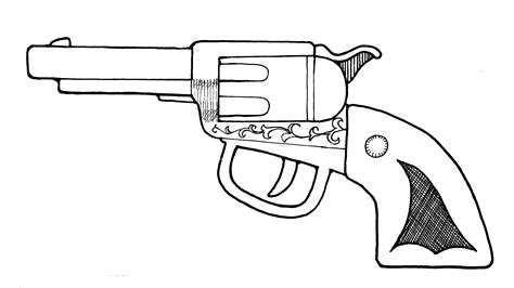 coloring pages guns holding a gun coloring pages