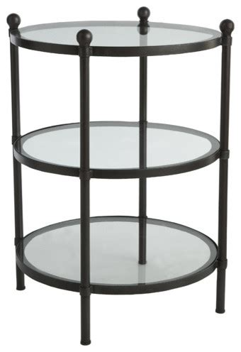 See Through Coffee Table See Through Side Table Contemporary Side Tables And End Tables By Wisteria