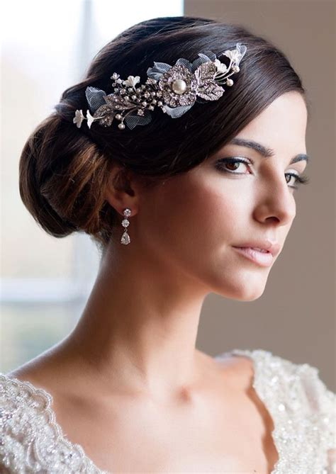 Wedding Hairstyles Headpiece by Wedding Headpiece Wedding Hairstyles
