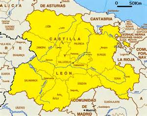Leon Spain Map by Castile And Leon Tourism Map Area Map Of Spain Tourism