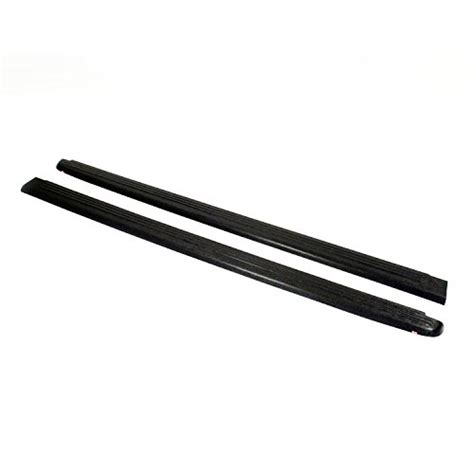 stake bed parts wade 72 00151 truck bed rail caps black ribbed finish